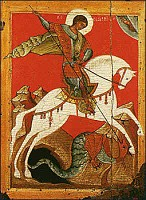 Icon of St. George the Great Martyr